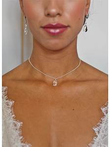 quotlounaquot collier de mariee avec long bijou robe dos nu so With robe de cocktail combiné avec bijoux swarovski mariage