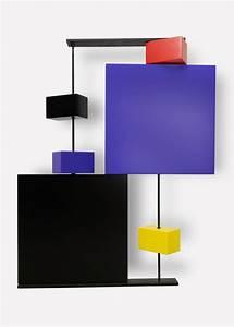 Sculpture Murale Design : sculpture murale cubique pas pied peint h68 les pieds sur la table ~ Teatrodelosmanantiales.com Idées de Décoration