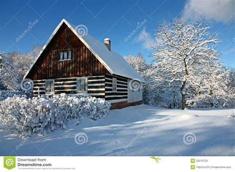 Winter Cottage Cottage In Winter Stock Image Image Of Winter