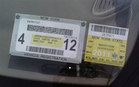 york state inspection sticker    nyspec