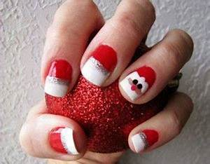 Easy & Cute Christmas Nail Art Designs & Ideas For Kids