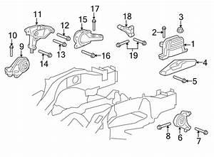 Chevrolet Captiva Sport Engine Mount Bracket  Liter  Trans  Mounting