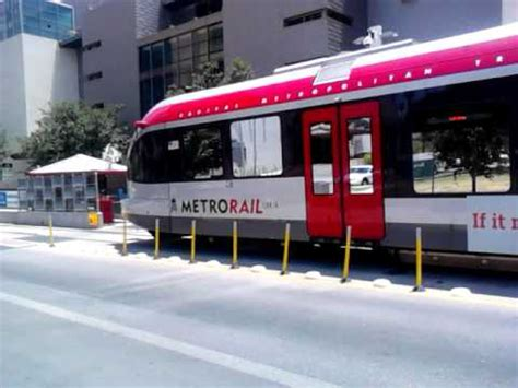 Capital Metro Light Rail in Downtown Austin (VID_20120618 ...