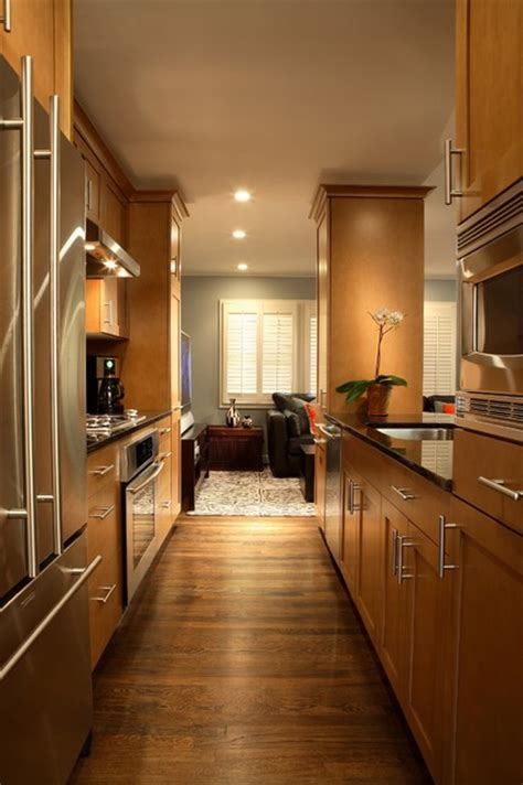 galley kitchen styles galley style kitchen contemporary kitchen atlanta 1178