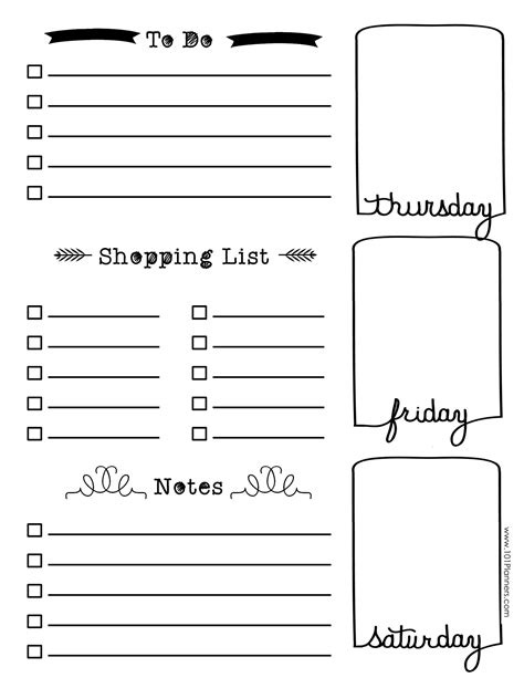 Journal Template Bullet Journal Template Pdf Templates Collections