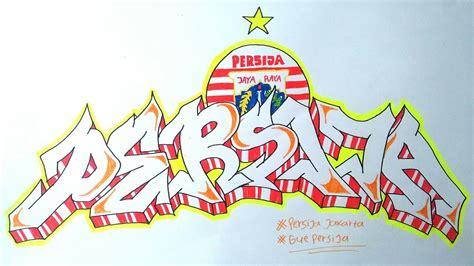 Grafiti Persija : Cara Membuat Graffiti Persija Jakarta
