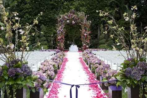 garden wedding in beverly california inside weddings