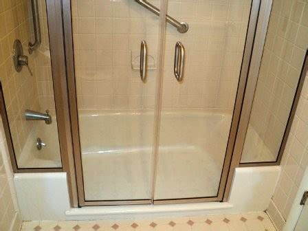tub to shower converter convert tub to walk in shower my hommie 6389