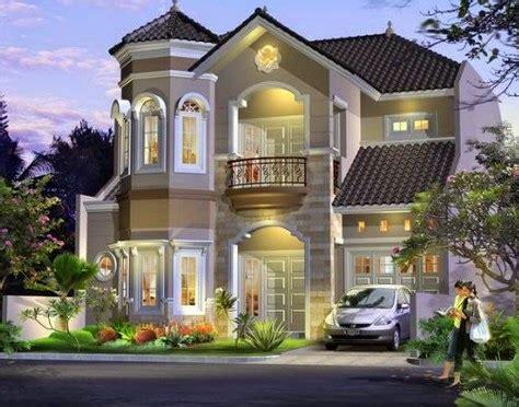 contoh gambar desain rumah modern  ala eropa