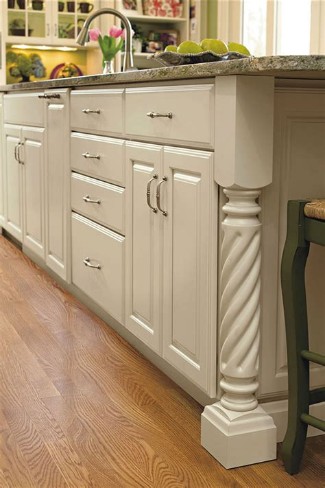 kitchen cabinets with legs rope island leg decora cabinetry 6475