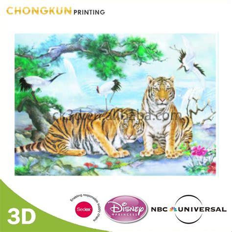 gambar  mewarnai gambar harimau pemandangan kartun