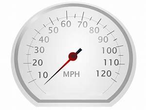Clipart - speedo meter