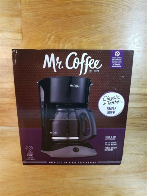 When the basket on your coffee machine is broken, you cannot make your coffee correctly. NEW!! Mr. Coffee 12-Cup Coffee Maker, Black Lift and Clean Filter Basket | eBay