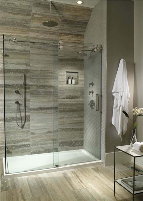 wall decor end modern shower pan matt and jentry home design