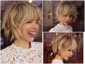 Best 10+ Layered Bob With Bangs Ideas On Pinterest