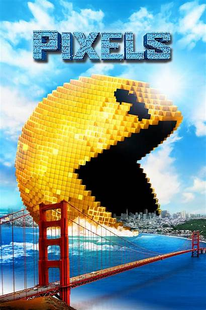 Pixels Poster Movies Fanboys Cared Sony Member