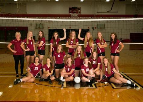 girls jv frosh volleyball teams cardinal athletic