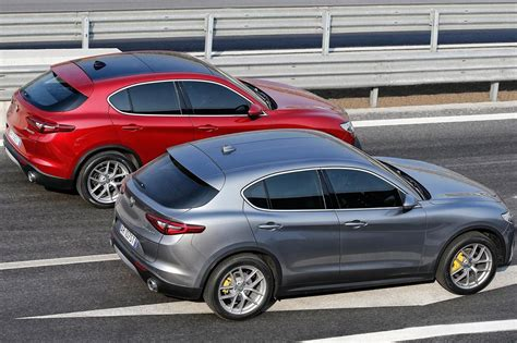 Alfa Romeo Stelvio 2018 Rear Motion