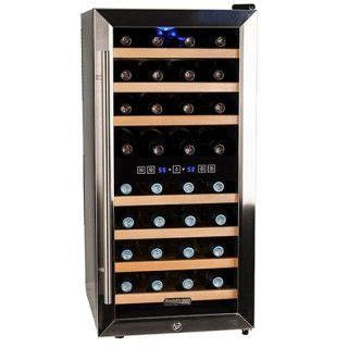 koldfront wine cooler review koldfront 32 bottle free standing dual zone wine cooler