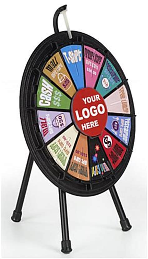 mini prize wheels slots  printout logos