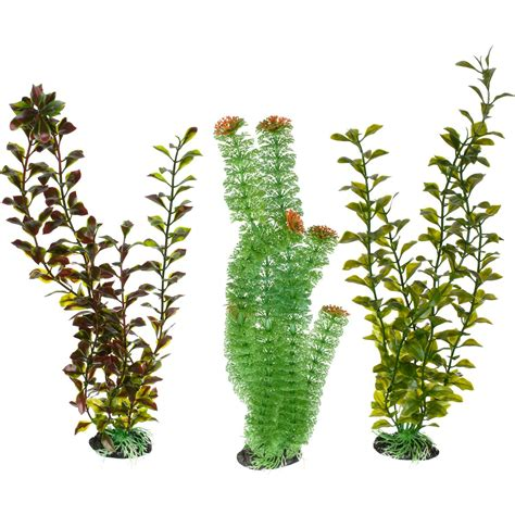 imagitarium super background plastic aquarium plant petco