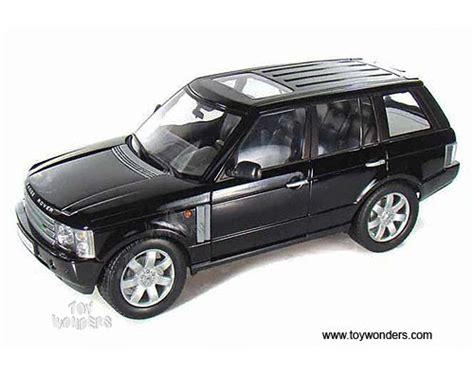 toy range rover 2003l roverrange rover suv w sunroof by welly 1 18