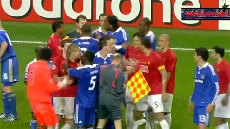 Manchester United vs Chelsea champions league final 2008 ...