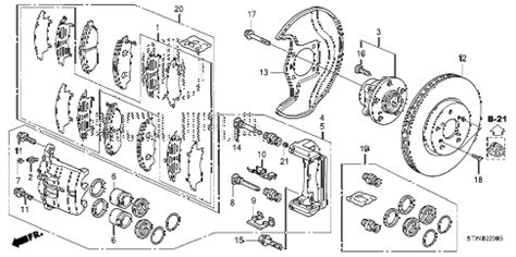 Acura Online Store Mdx Front Brake Parts