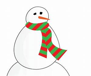 Snowman Purple Scarf - ClipArt Best