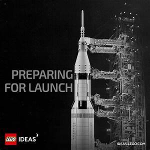 lego ideas apollo 11 saturn v nasa 21309 rakete neuer
