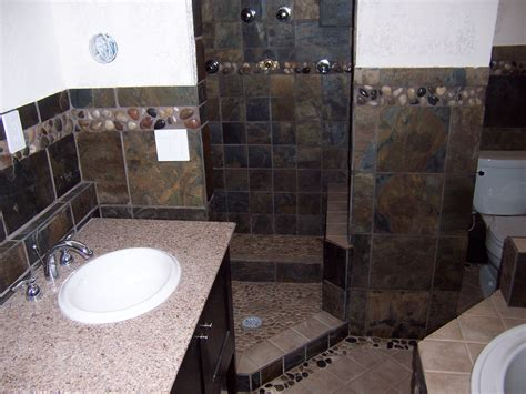 slate tile bathroom ideas slate bathroom remodel hardhat13