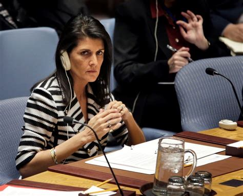 Nikki Haley Pours Cold Water On Palestinian Authority