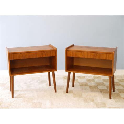 table chevets vintage deco scandinave la maison retro