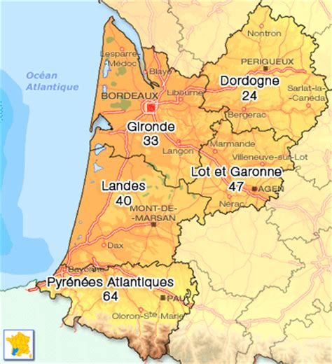 chambres d hotes nord location aquitaine particulier carte aquitaine