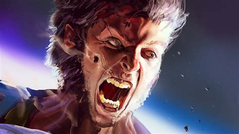 wolverine angry hd superheroes  wallpapers images