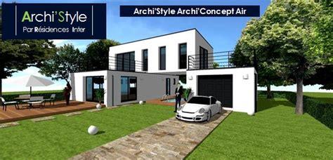 maison moderne sans toit plan maison moderne sans toit