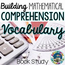 Building Mathematical Comprehension  Vocabulary (ch 2)  Adventures Of A Schoolmarm