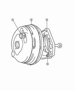 Jeep Liberty Hose  Vacuum Supply  Engine To Booster