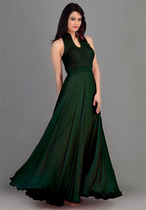 gaun baby gaun green fashion self designer georget green