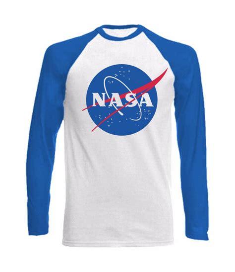 sleeve baseball t shirt with nasa influenced design space agency big ebay