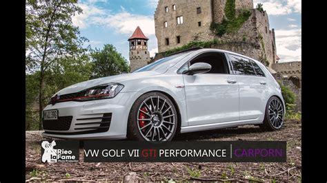 gti tuning vw golf vii   ps youtube