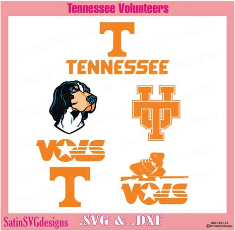 With this purchase, you will receive a zipped folder containing these should you wish to use the png file with a standard printer and iron on transfer paper, please remember to follow the directions on your transfer paper. Tennessee Volunteers Design Kit Files Use Your Silhouette ...