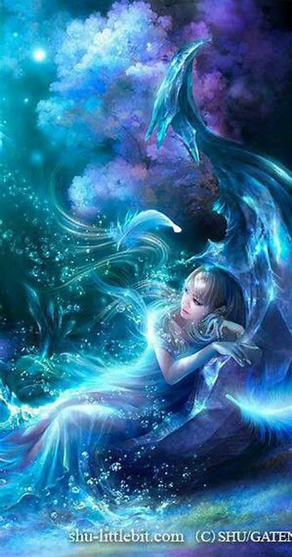 Digital Fantasy Fairy Anime Artwork Fairies Magical