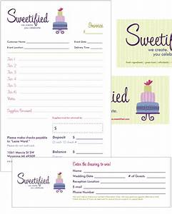free invoice templates picture bakery ideas pinterest With cake order invoice template