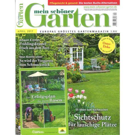 Mein Schöner Garten by Mein Sch 246 Ner Garten Die Gartenzeitschrift Abonnieren