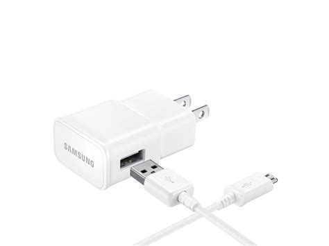 adaptive fast charging wall charger detachable microusbusb cable mobile accessories ep