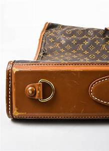 Brown Louis Vuitton The French Luggage Company Canvas ...