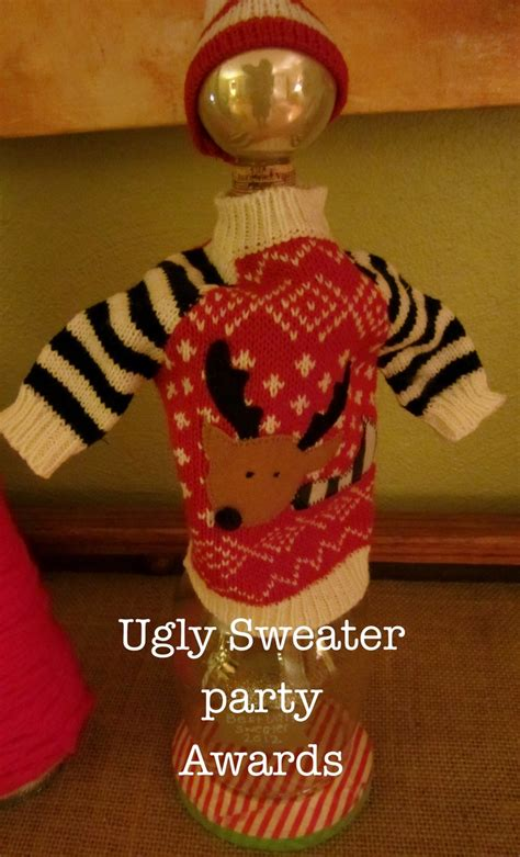 ugly sweater party awards ugly sweater party ideas pinterest