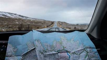 Travel Road Map Trip Background Widescreen