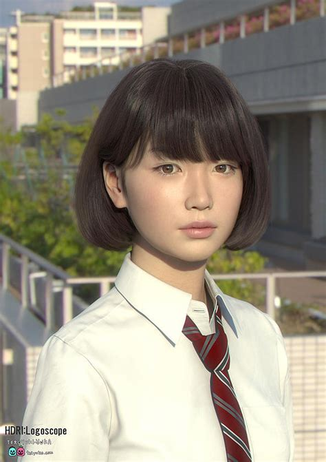 this beautiful japanese girl 'saya is not what you think she is